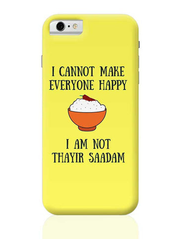 Happiness = Thayir Saadam iPhone 6 6S Covers Cases Online India