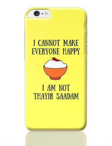 Happiness = Thayir Saadam iPhone 6 Plus / 6S Plus Covers Cases Online India