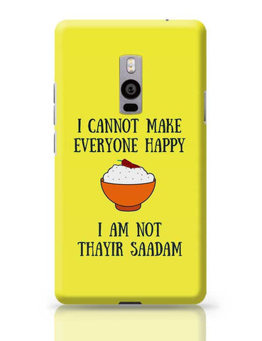 Happiness = Thayir Saadam OnePlus Two Covers Cases