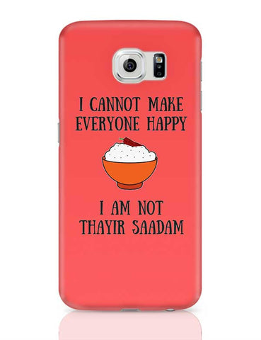 Happiness = Thayir Saadam Samsung Galaxy S6 Covers Cases Online India