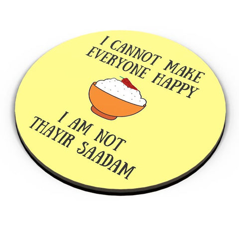 Happiness = Thayir Saadam Fridge Magnet Online India