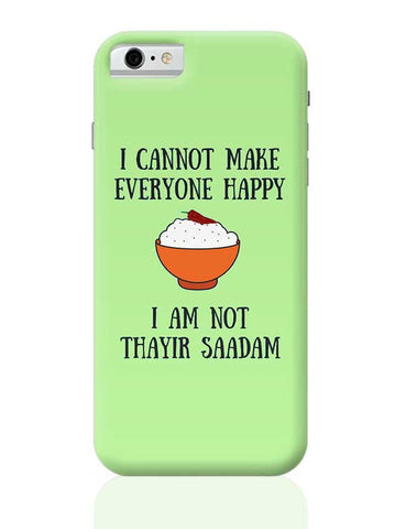 Happiness = Thayir Saadam iPhone 6 / 6S Covers Cases