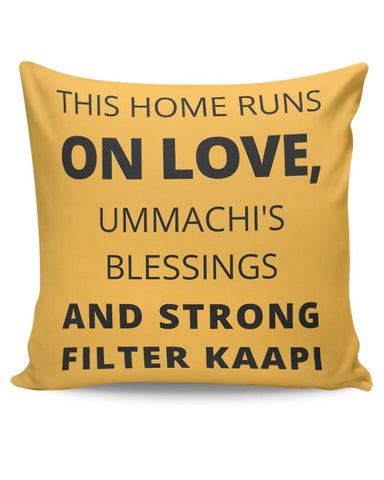 This Home Runs On Cushion Cover Online India