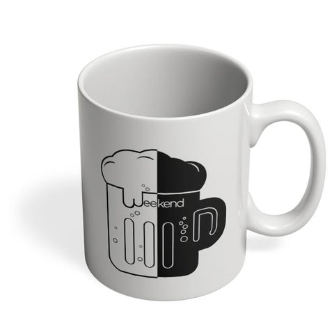 Drunk Weekend Coffee Mug Online India