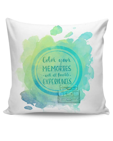 Take me anywhere Cushion Cover Online India