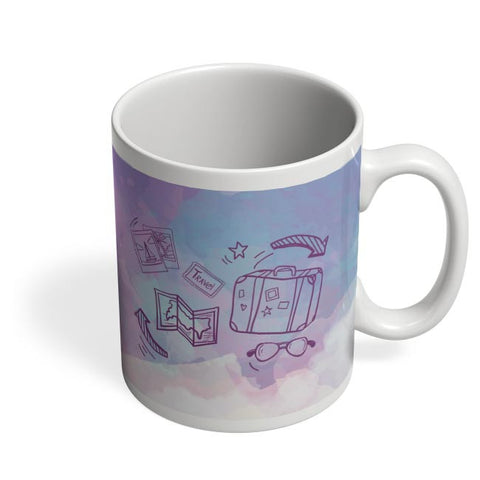 Travel for the hungry Soul Coffee Mug Online India