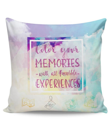 Travel for the hungry Soul Cushion Cover Online India