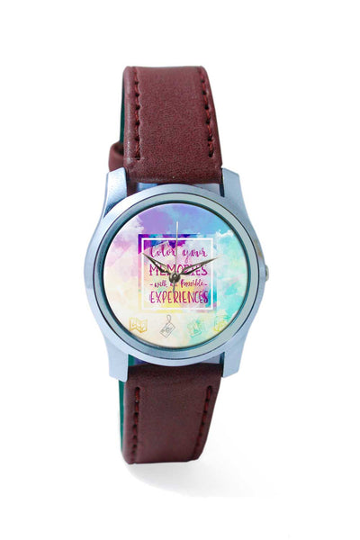Women Wrist Watch India | Travel for the hungry Soul Wrist Watch Online India