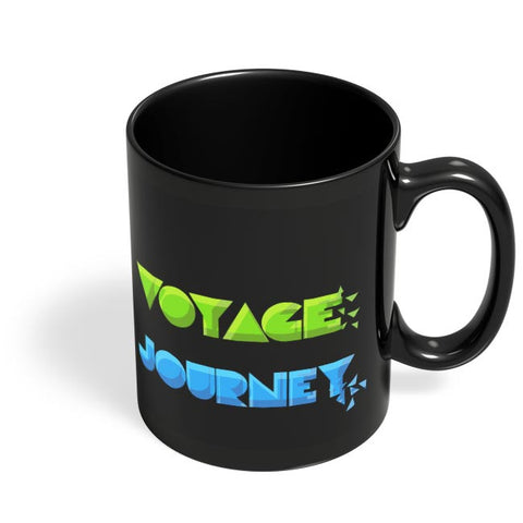 Psychedelic Travel  Black Coffee Mug Online India