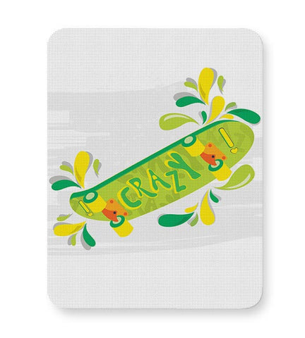 Skate down in bright colors! Mousepad Online India