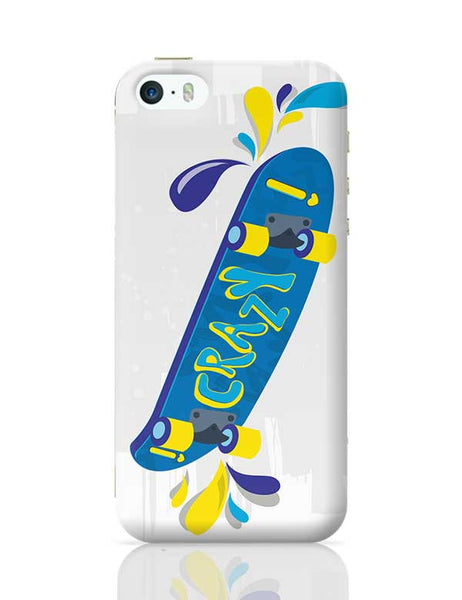 Skate down in bright colors! iPhone 5/5S Covers Cases Online India