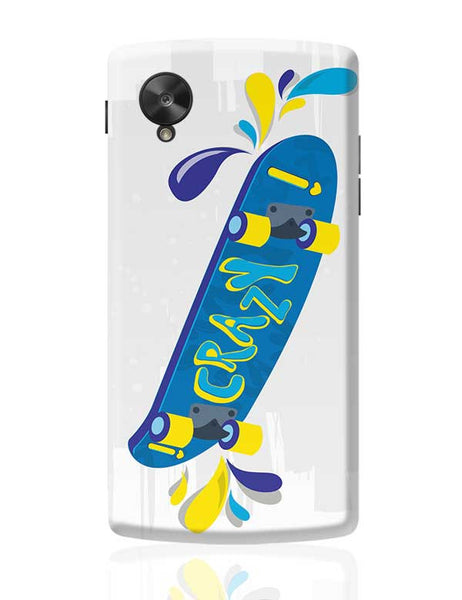 Skate down in bright colors! Google Nexus 5 Covers Cases Online India