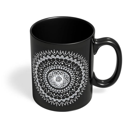 Reverse Ink Black Coffee Mug Online India