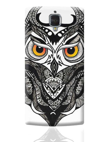Owl Nightwatcher OnePlus 3 Covers Cases Online India