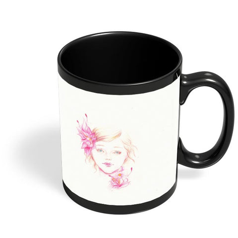 Unspoken Black Coffee Mug Online India