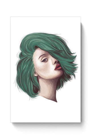 Buy Green Hair Poster