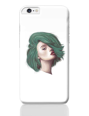 Green Hair iPhone 6 Plus / 6S Plus Covers Cases Online India