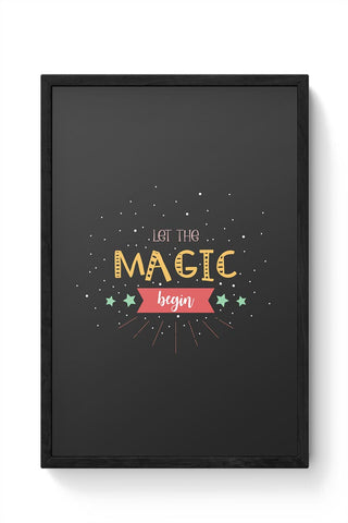 Magic Framed Poster Online India