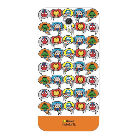 Superheroes Collage  Orange Lenovo Zuk Z1 Case Cover
