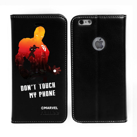 Iron Man Black Flip iPhone 6S/6 Case Cover