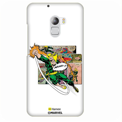 Iron Fist White Lenovo K4 Note/Vibe K4 Note Case Cover
