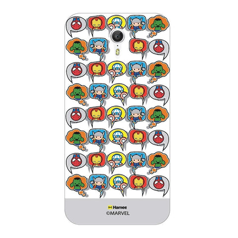 Superheroes Collage  Gray Lenovo Zuk Z1 Case Cover