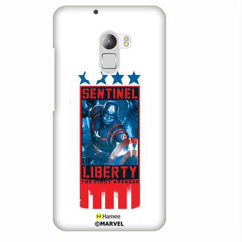 Sentinel Of Liberty Captain America White Lenovo K4 Note/Vibe K4 Note Case Cover