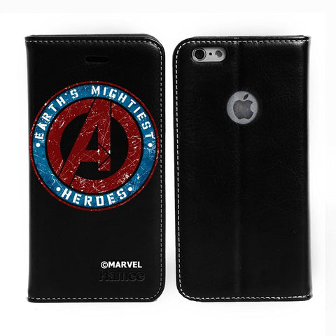 Earth'S Mightiest Black Flip iPhone 6S/6 Case Cover