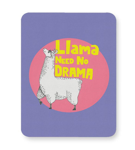 Llama need no drama Mousepad Online India