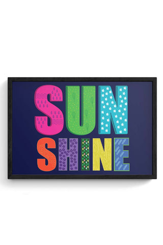 Sunshine Framed Poster Online India