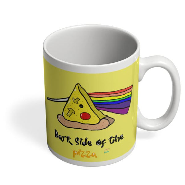 Dark side of the pizza! Coffee Mug Online India