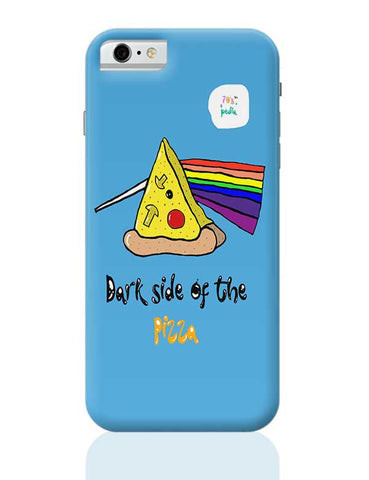 Dark side of the pizza! iPhone 6 / 6S Covers Cases