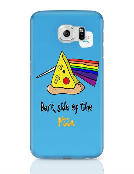Dark side of the pizza! Samsung Galaxy S6 Covers Cases Online India