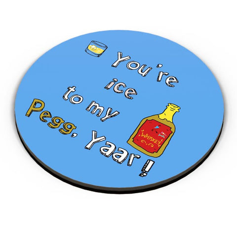Pegg yaar! Fridge Magnet Online India