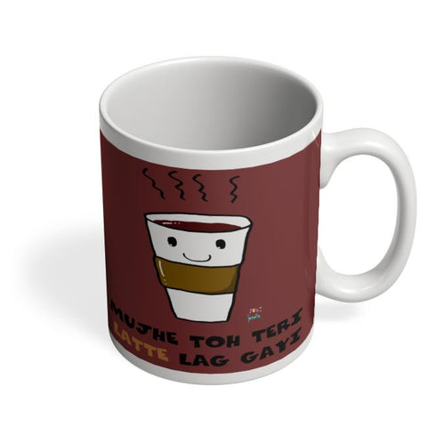 Latte lag gayi Coffee Mug Online India