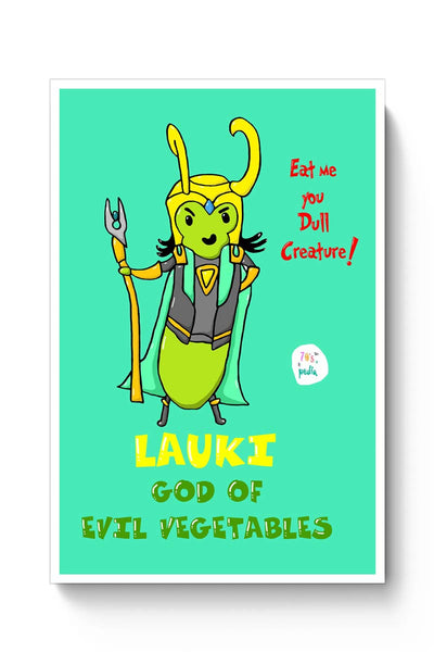 Buy lauki, the evil god Poster