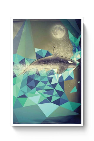 Buy Flying Whale Poster