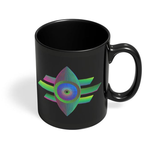 eye see you Black Coffee Mug Online India