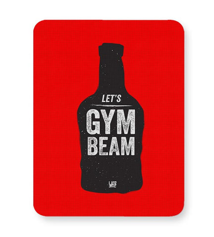 Lets Gym-Beam Mousepad Online India