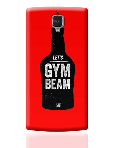 Lets Gym-Beam OnePlus 3 Covers Cases Online India