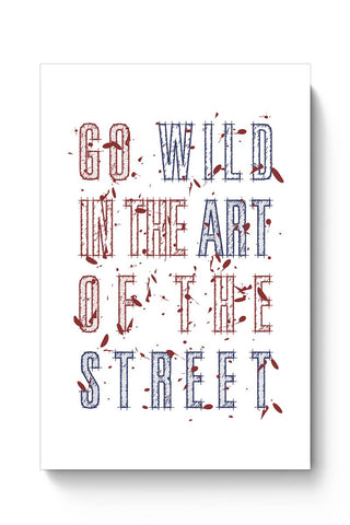 Street Art Typography Poster Online India