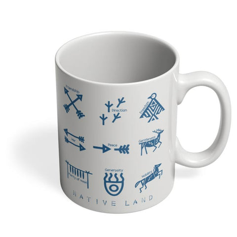 Native Land design Coffee Mug Online India