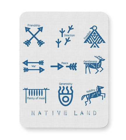 Native Land design Mousepad Online India
