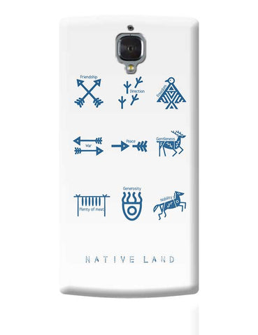 Native Land design OnePlus 3 Covers Cases Online India