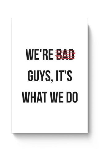 Buy Bad Guys Poster