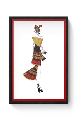 Blend Framed Poster Online India