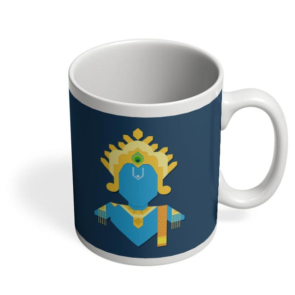 Minimal Krishna Coffee Mug Online India