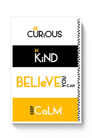 Believe You Can Poster Online India