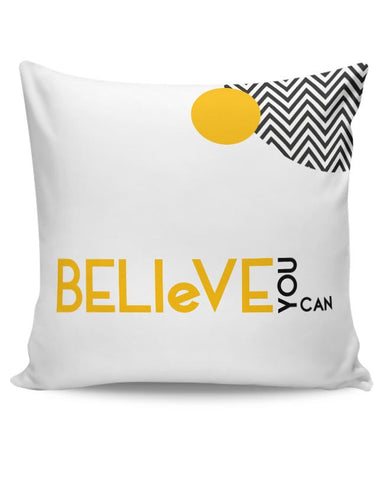 Believe You Can Cushion Cover Online India