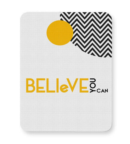Believe You Can Mousepad Online India
